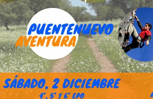 SÁBADO 2 DICIEMBRE. AVENTURA: TIROLINA, ESCALADA, TIRO CON ARCO, BUSQUEDA DEL TESORO