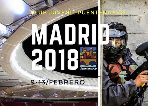 Carnavales 2018. Convi en Madrid del 9 al 13 de febrero.