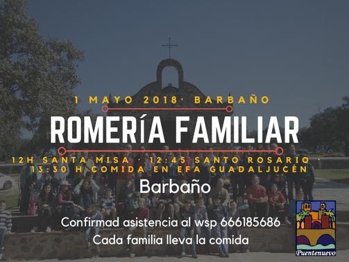 ROMERIA FAMILIAR 1 DE MAYO
