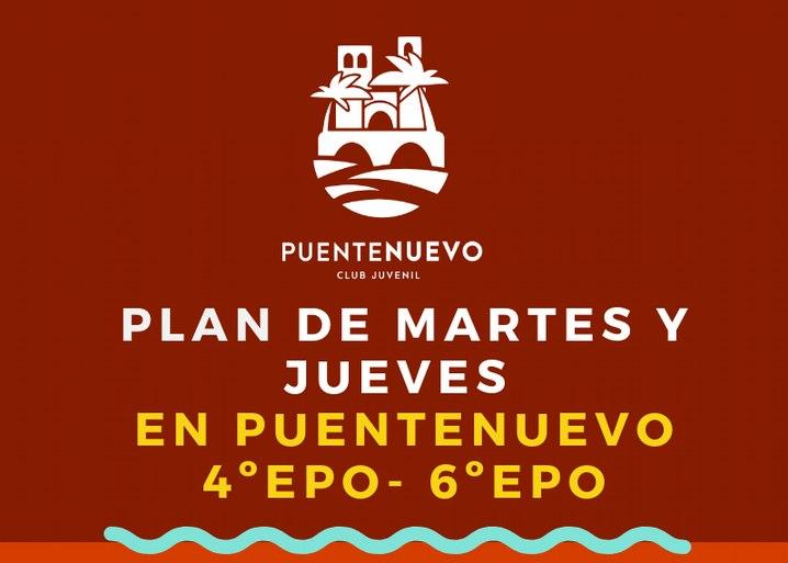 Martes y jueves  4º EPO a 6º EPO