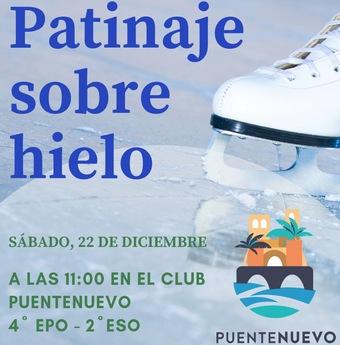 22 diciembre Patinaje sobre hielo