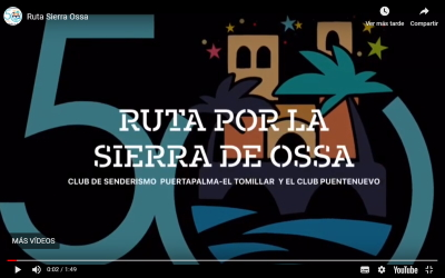 Video por la Sierra de Ossa